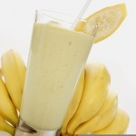 Банан с молоком от кашля