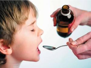 Детский сироп от сухого кашля