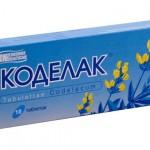 Таблетки «коделак» от кашля